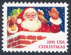 6s Postal Service Christmas Stamp 2021 Postage Stamps