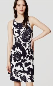 Popped in monochrome florals, this statement-maker is a strikingly flattering (and super soft) study. Shirred beneath neck and waist. Keyhole with button closure at back neck. Partially lined. from natural waist. Cute Summer Dresses, Day Dresses, Dress Outfits, Cool Outfits, Bridesmaid Dresses Floral Print, Bridesmaid Dresses Under 50, Bridesmaids, Buy Dress, Dress Skirt