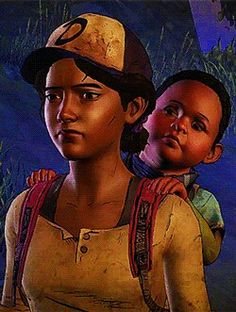 Clem and AJ :(