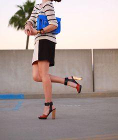 Outfit post:  http://kellygolightly.com/lofty-ambitions/    #kellywearstler #zara #loft #loftgirl