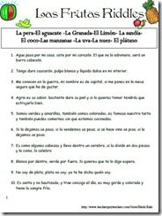 Adivina, adivinanza (Spanish riddles)