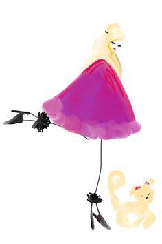 purple cape #fashion #fashionillustration #bybc