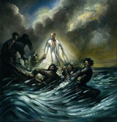 Peter Howson The Tempest / Oil on board / 2005 Fine Art Drawing, Painting & Drawing, Anna Chapman, Peter Howson, Find Santa, Paradise Found, Art Fair, Contemporary Paintings, Oil On Canvas