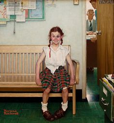 Norman Rockwell - High. This will always be one of my favorites