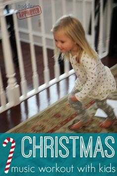 Christmas Music Workout with Kids + FREE Printable   Toddler Approved