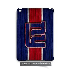 New York Giants on Wood iPad Air Mini 2 3 4 Case Cover