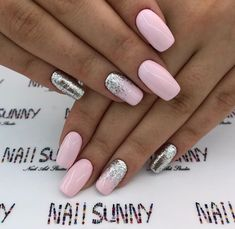 Nail designs Featured Nail Sunny Nail Art Salon Wedding Invitations Without Breaking a Perfect Nails, Gorgeous Nails, Love Nails, Stylish Nails, Trendy Nails, Diy Nails, Glitter Nails, Nail Art Salon, Nagellack Design