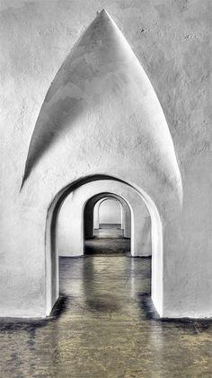 Archway.  San Cristóbal Castle, Old San Juan, Puerto Rico by alamme on Flickr.