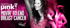 Party in Pink moving to end breast cancer.  It's time to get moving and help find cures for  breast cancer. Do it for yourself, for the people you love, for the millions who need your support.  Join the global Party in Pink™ movement.