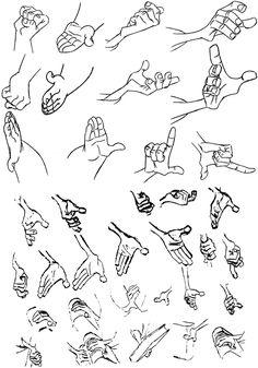Animation Art — Blue Monkeys From Marz  Hands!!