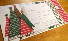Free Scrapbook Layouts | Debbie Sanders sketch layout for Saturday...