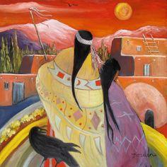 Spirit of the Sunrise Painter ~ by Marilu Norden