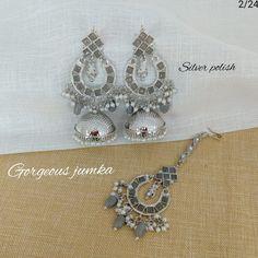Mehendi, Crochet Earrings, Polish, Jewelry, Fashion, Moda, Vitreous Enamel, Jewlery, Jewerly