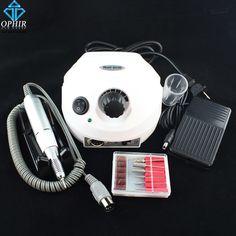 OPHIR 30000RPM Electric Nail Drill Machine Nail Art Equipment Manicure Pedicure Kit Nail File Bit Nail Tools Accessory_KD143W