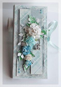 U Zofijki Cute Cards, Floral Wreath, Scrapbook, Vase, Wreaths, Blog, Home Decor, Floral Crown, Decoration Home