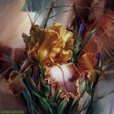 Живые портреты цветов Ви Данн-Харр