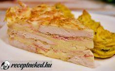 Baconos csirketorta recept Receptneked konyhájából - Receptneked.hu Hawaiian Pizza, Cake Recipes, Bacon, Food, Easy Cake Recipes, Essen, Meals, Yemek, Pork Belly