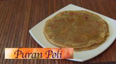 Puran Poli Recipe (Indian Sweet Flatbread) by Smita || India Food Network