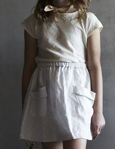 Mabo edith blouse - cream gauze
