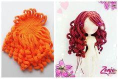 Crochet Doll Pattern Afghan Crochet Patterns Amigurumi Tutorial Doll Tutorial Doll Wigs Doll Hair Crochet For Kids Crochet Baby Crochet Books Crochet Doll Clothes, Knitted Dolls, Crochet Dolls, Crochet Baby, Free Crochet, Knit Crochet, Crochet Doll Pattern, Crochet Toys Patterns, Crochet Crafts