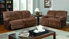 Global U9968 Sofa Loveseat Chair  - Livingroom set. All elements have recliner mehanism. Consist of: sofa, loveseat, chair.