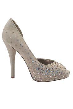 Steve Madden peep toe heels.