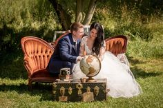Your wedding should reflect your story! Come travel with us, settee is available for rent!