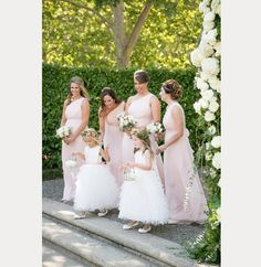 Adorable Real Calabrese Flower Girls on Style Me Pretty  ~  we ❤ this! moncheribridals.com