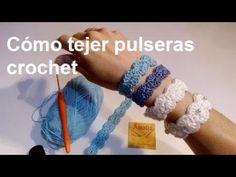 Tutorial pulseras Cruciani a ganchillo - YouTube