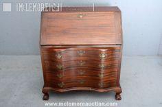 Mahogany Association, Inc. Mahogany Slant-Front Desk | McLemore Auction Company, LLC