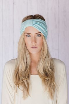 Flight hearted and fun our sparrow fit headband is a Three Bird Nest shop favorite. Our wide knotted hair band is soft, snug and your perfect