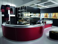 Italian Bar Furniture Design - Model ZERONOVE