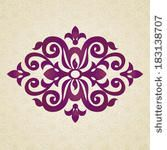 Vector baroque ornament in Victorian style. Ornate element for design. Toolkit for designer. It can be used for decorating of invitations, g...