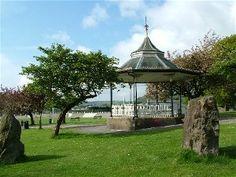 Bandstand in Carmarthen Park Scottish Gaelic, Kingdom Of Great Britain, Northern Ireland, United Kingdom, Gazebo, The Unit, Outdoor Structures, London, Park