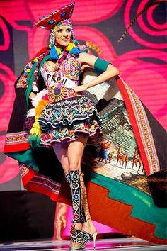 Traje típico de Miss Perú