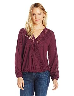 Taylor and Sage Women's Knit with Lace Trim Surplice Top,... https://www.amazon.com/dp/B01LWCQH7O/ref=cm_sw_r_pi_dp_x_J96Kyb2R8APC5