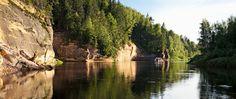 gauja nationalpark im Lettland Reiseführer http://www.abenteurer.net/3687-lettland-reisefuehrer/