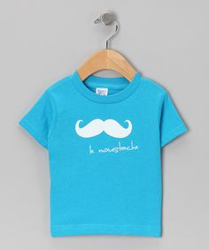 Spread smiles and incite chuckles with this cheeky number. Emblazoned on the chest of a tiny charmer, who's sure to be happy thanks to its comfy cotton construction, this tee's silly message might just save the day from frowns.100% cottonMachine wash; tumble dryImported