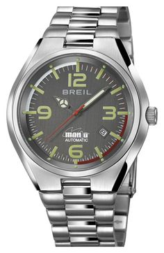 Breil 'Manta Professional' Automatic Bracelet Watch, 42mm available at #Nordstrom