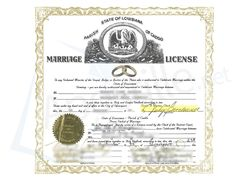 Louisiana death certificate not acceptable for apostille state of parish of caddo state of louisiana marriage license issued by the clerk of the district court yelopaper Images