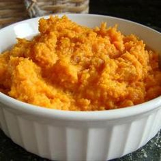 Brown sugar and cinnamon mashed sweet potatoes on BigOven: A delicious mashed sweet potato recipe great for the holidays or anytime. Make with: (Easy version) Baked BBQ Chicken Breasts