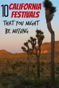Ten Fun California Festivals That May Not Be on Your Radar