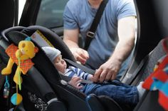 Keep your baby safe with a properly installed car seat.