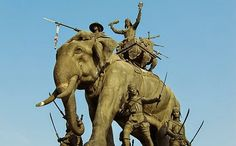 Queen Suriyothai Monument - Ayutthaya, Thailand