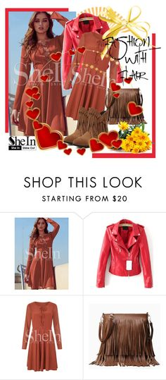 """""""SheIn 6"""" by selmina ❤ liked on Polyvore featuring Sheinside and shein"""