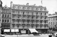 Metropole Hotel, Dublin City, Co. Dublin - Digital Repository of Ireland Ireland 1916, Dublin Ireland, Ireland Travel, Dublin Street, Dublin City, Old Pictures, Old Photos, Ireland People, Backpacking Ireland
