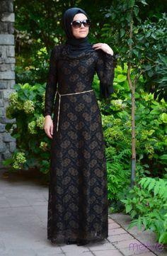 Tesettür Elbise Kahverengi #sefamerve #tesettur #tesetturgiyim #elbise#yenisezon #2014 #Hijabdress #Hijab #newseason #tesettür elbise