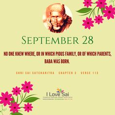 Please share: By Baba's grace, Team I Love Sai has introduced this Baba's calendar. The message in this is directly from Shri Sai Satcharitra. We urge you to please share this and spread Baba's message. Shirdi Sai Baba Wallpapers, Sai Baba Quotes, Sathya Sai Baba, Om Sai Ram, Trust God, Faith, Messages, How To Plan, My Love