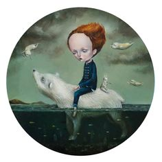 """Dilka Bear """"Full Moon Children"""" September 17th – October 23rd, 2016 Opening Reception, Saturday, September 17th, 2016 *Dilka Beae will be present* Northport, NY Haven Gallery is pleased to present """"Full Moon Children"""", a solo show of new work by Italy based artist Dilka Bear. """"Full Moon Children"""" is Dilka ... Read More"""