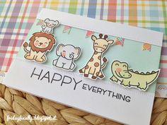 #lawnfawn #wildforyou #happyhappyhappy